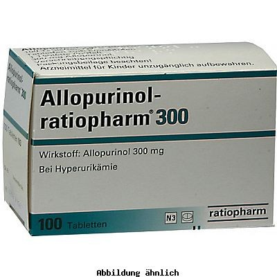 allopurinol ratiopharm 300 mg tabletten packungsinhalt 100 st ck linden apotheken nierstein. Black Bedroom Furniture Sets. Home Design Ideas