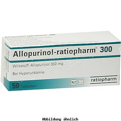 allopurinol ratiopharm 300 mg tabletten packungsinhalt 50 st ck linden apotheken nierstein. Black Bedroom Furniture Sets. Home Design Ideas